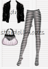 Legging, veste et sac Monster High