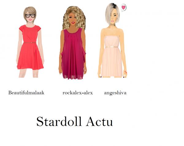 Bannière pour StardollActu