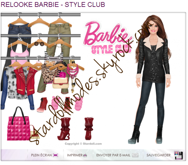Veste Barbie