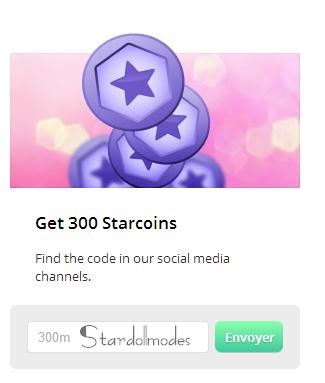 300 starcoins