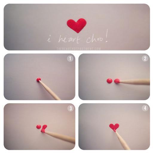 manucure comment faire un coeur sur ses ongles les petites affaires de tree power. Black Bedroom Furniture Sets. Home Design Ideas