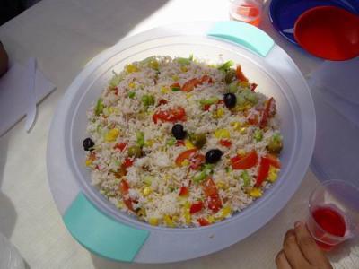 Salade De Riz Les Familles De Sokens