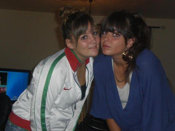 Mélanie et Isilda !