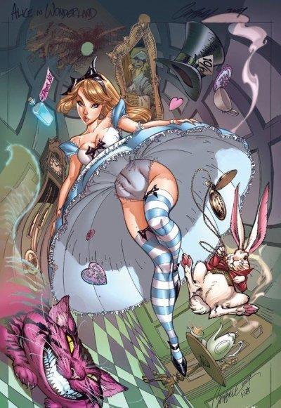 Alice aux pays des merveilles! (l)