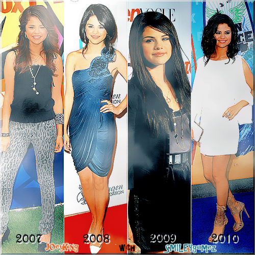 L'évolution de Demi, Selena, Miley