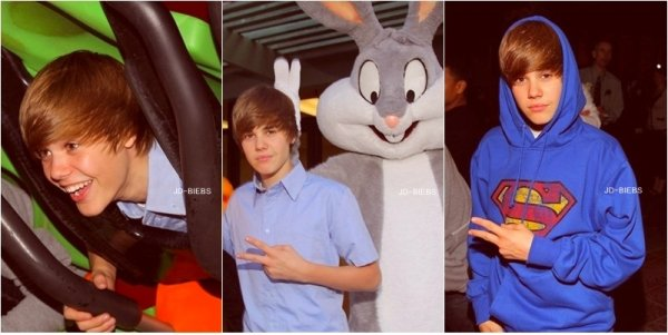 8 Mai 2010 Justin c'est rendu à Six Flags Magic Mountain, so Cute ♥