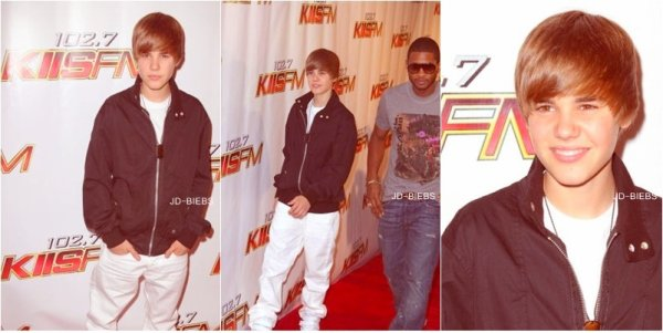 15 Mai 2010 Justin était à la radio KIIS fm Wango Tango à L.A accompagnée d' Usher.  Les photos de sa performance, So Cute Bieber ♥