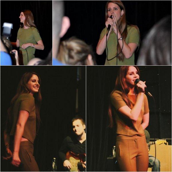 11/02/2012 : Lana Del Rey était en concert à Seattle.