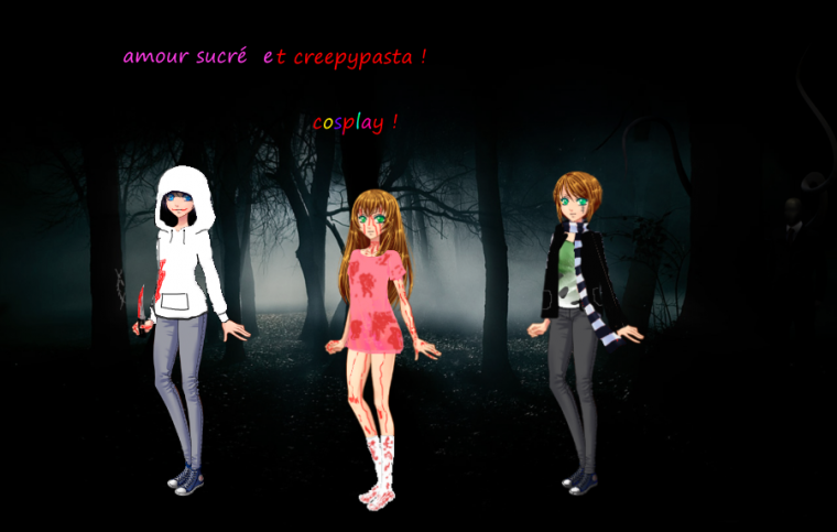 Amour sucré cosplay Creepypasta !