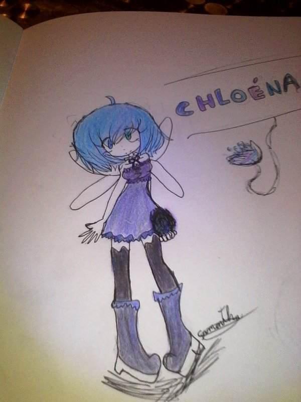 Chloéna dessin
