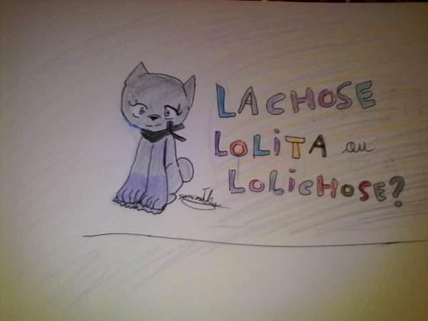 Lolichose  dessin