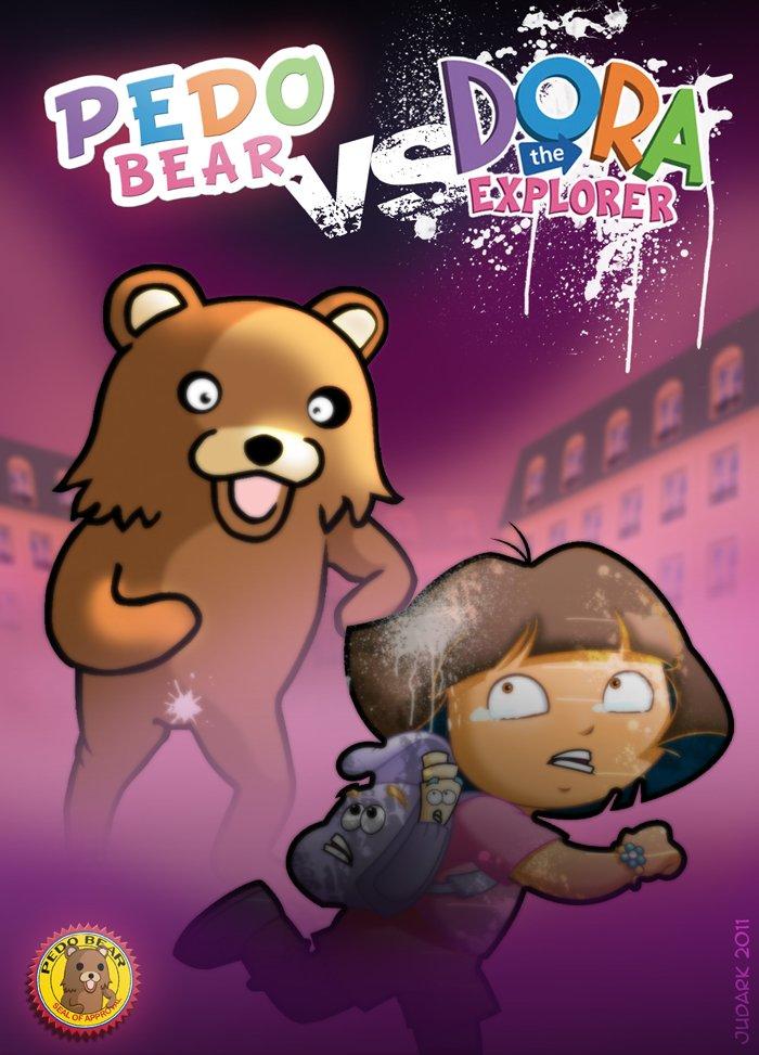Pauvre Dora ! O_O Troll pédobear