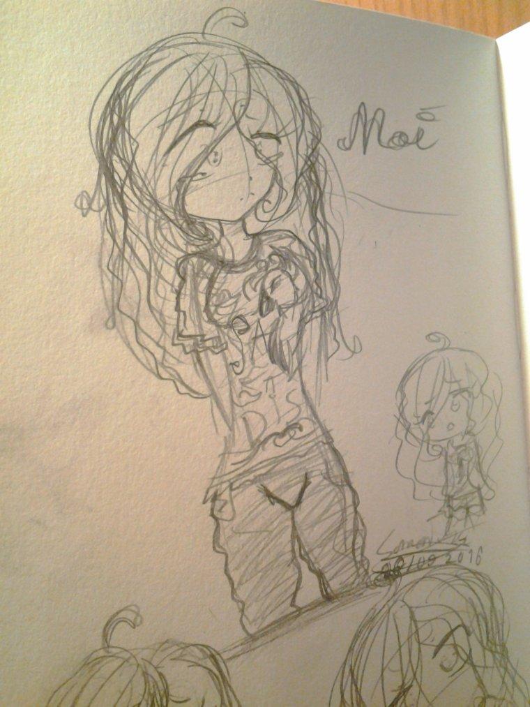 Moi en dessin... 'w'