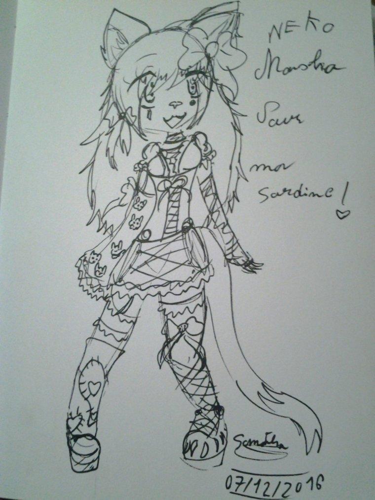 Neko Masha pour Alice