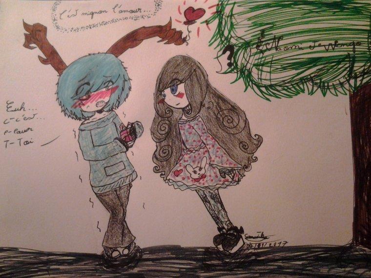 Wengo et Naomi enfants