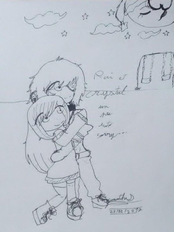 Crystal et Rai !