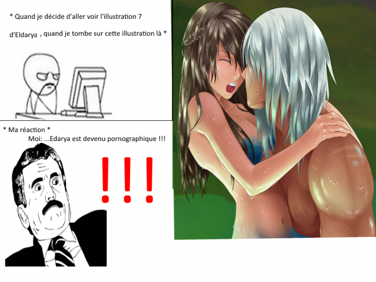 Eldarya est devenu pornographique !! troll