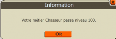 Up Chasseur / Boucher 100