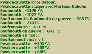 Boufmouth , Crafts