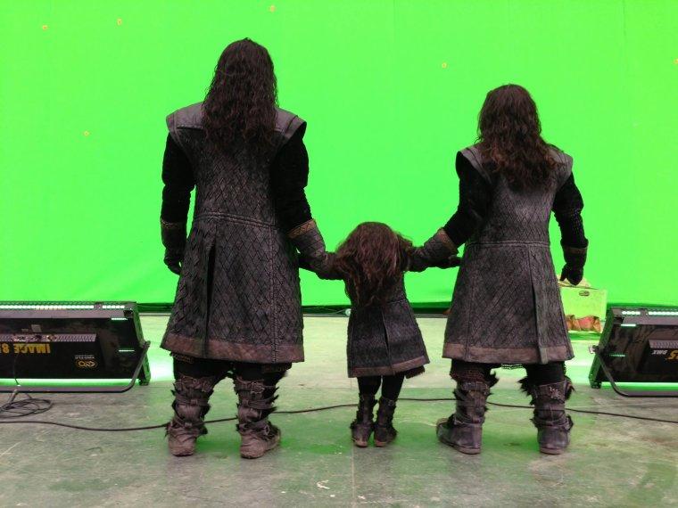 Des Figurines, un Thorin en évolution, le dernier jour du tournage