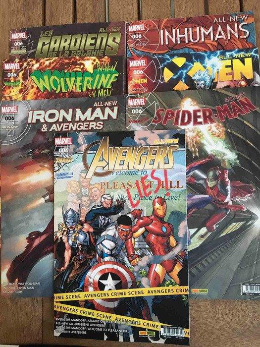 Kiosques Marvel #6