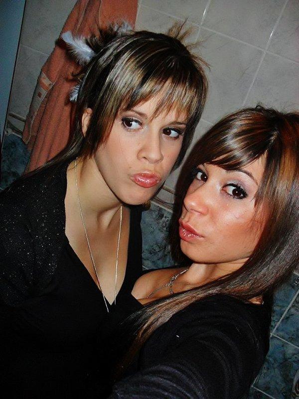 la cousine et moi
