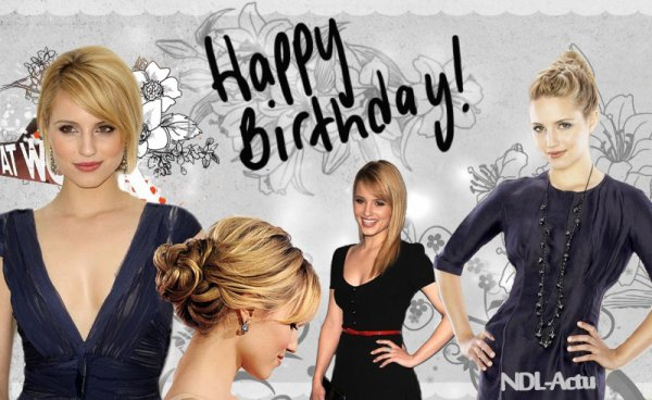 Happy BDay Dianna ♥