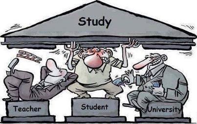 more study more confusion,no study no confusion.