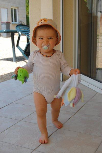 Baptiste : 16 mois.