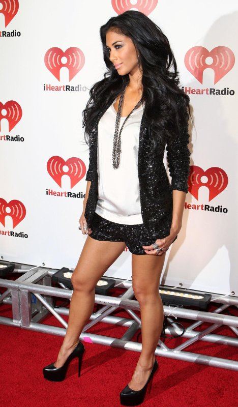 Nicole Scherzinger at I Heart Radio on 24 september