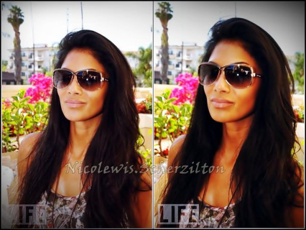 Nicole Scherzinger in Juicy Couture Saga sunglasses at the HBO Luxury Lounge on August 28, 2010 in Beverly Hills, California