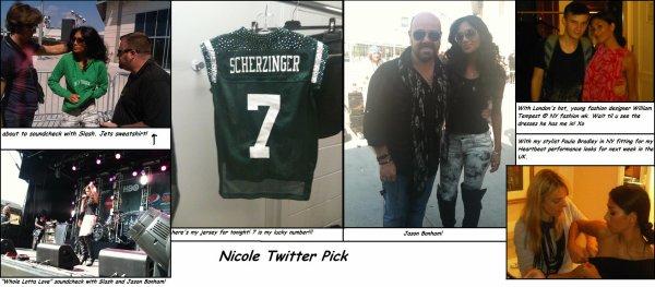 Nicole twitter Pick