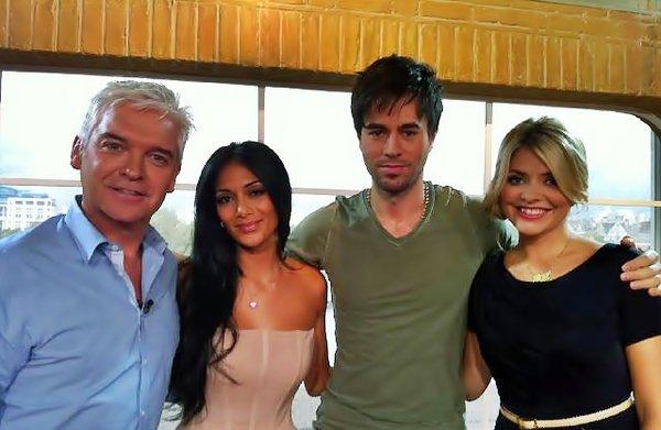Nicole Scherzinger & Enrique on The UK's This Morning 16.09.2010
