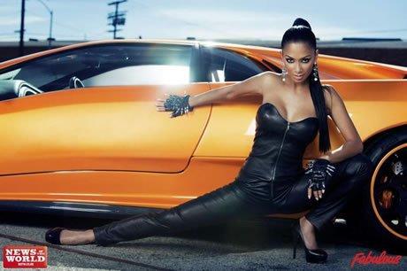 Nicole Scherzinger for Fabulosity magazine photoshoot!