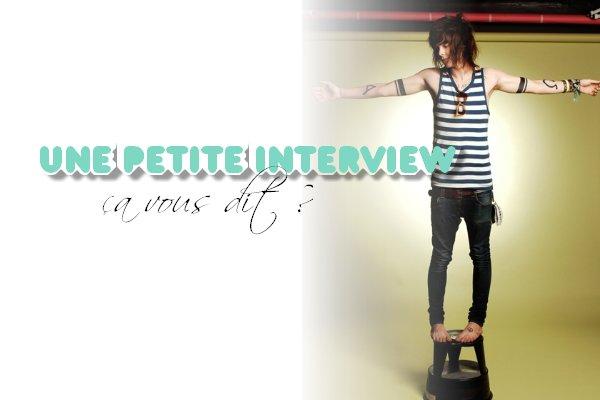 Interview' Chris. ♥