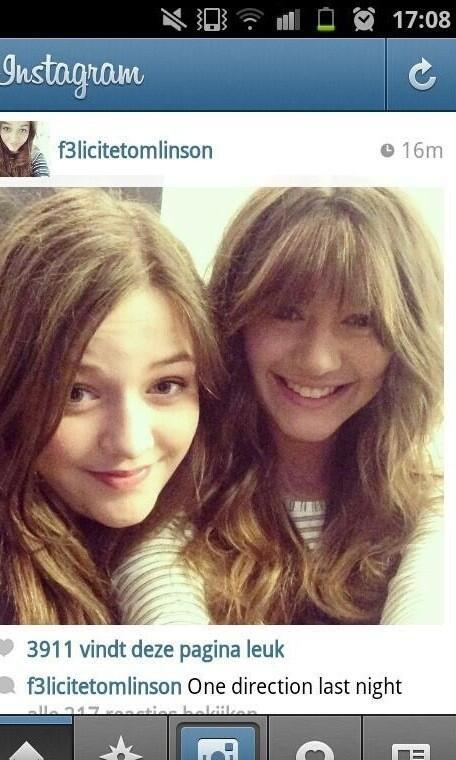 Eleanor avec Fizzy hier au concert