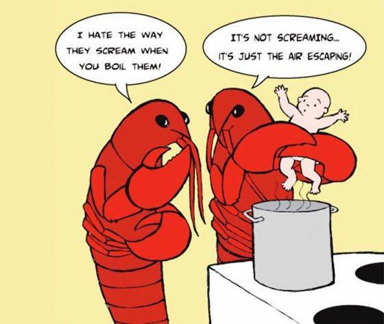 L'exploitation des animaux vue en quelques dessins humoristiques...