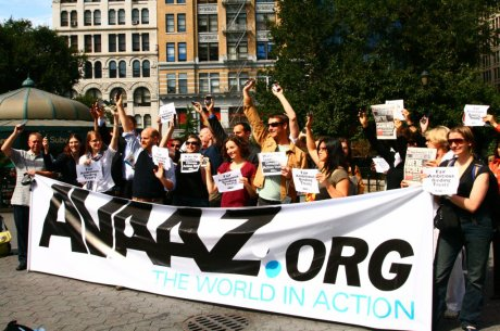 Un petit message reçu d'Avaaz