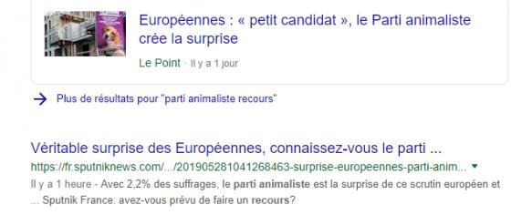 Des élections européennes plutôt marquantes