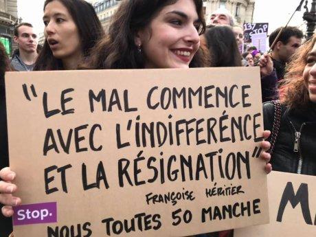 Rassemblement #NousToutes du samedi 23 novembre 2019