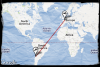 Me voila a 11700 km de ma France natale...