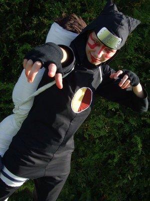cosplay de kankuro ninja du village de suna