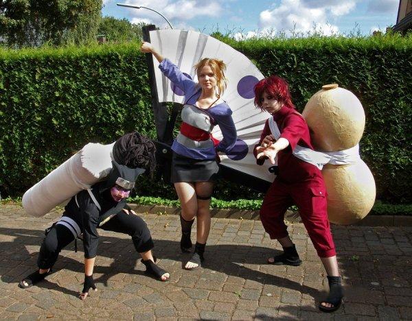 cosplay de l'equipe de suna