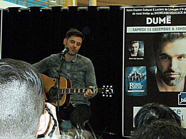 Photo du showcase de Dumé (2)