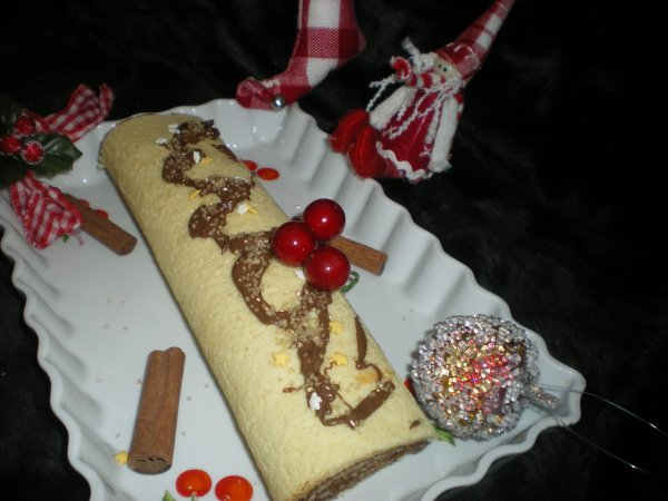 ♥ Roulé au Chocolat ♥  (Nutella)