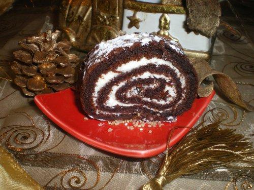 ♥  Roulé au chocolat des fêtes ♥