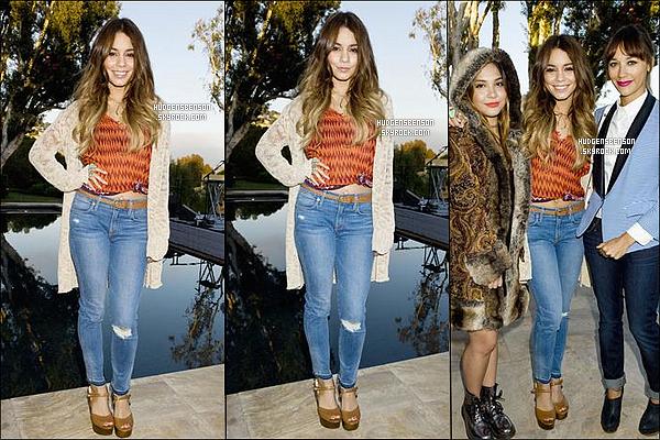 24/08/13 : Vanessa a été aperçue alors qu'elle se rendait au « Soul Cycle Class » dans le West Hollywood.