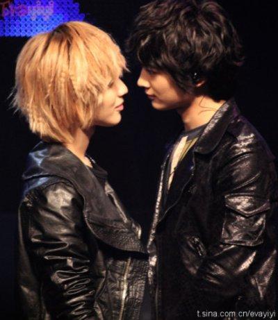 Taemin & Minho: Un entrainement tentateur