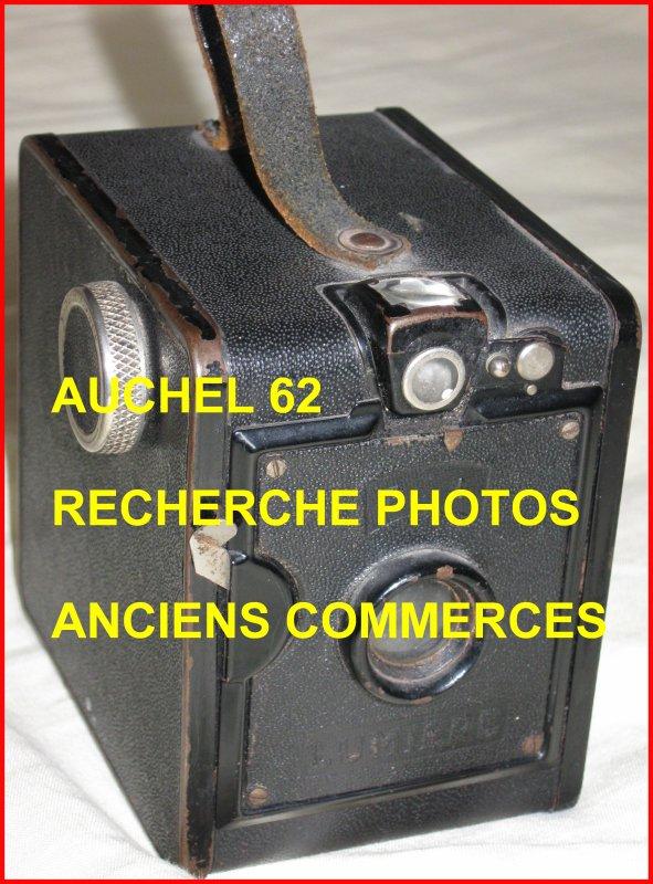 AUCHEL 62 - APPEL A TEMOINS AU SUJET DES ANCIENS COMMERCES ET COMMERCANTS