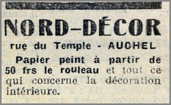 AUCHEL - NORD DECOR Tout ce qui concerne la décoration intérieure - rue du Temple